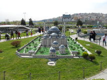 Miniaturk or Turkey Miniature Park Royalty Free Stock Photos
