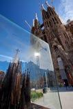 Miniaturkopie des La Sagrada Familia Lizenzfreie Stockfotografie