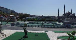 Miniaturkpark Istanboel stock video
