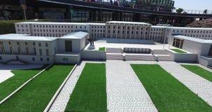 Miniaturkpark Istanboel stock videobeelden