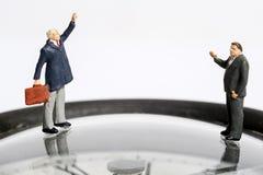 Miniaturleute Stockfotos