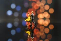 Miniaturleute Stockfoto
