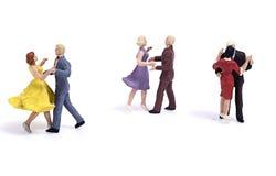Miniaturleute Stockbild