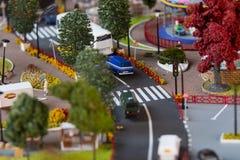 Miniaturmodell des Grod Stockbilder