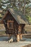 Miniaturowa buda w miasto parku Zdjęcia Royalty Free