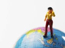 miniaturowa kobieta Fotografia Royalty Free
