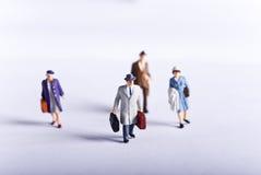 miniaturowa podróż Obrazy Stock