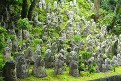Miniaturowe Buddha statuy zdjęcia royalty free