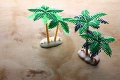Miniaturowi drzewka palmowe Zdjęcie Stock