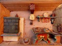Miniaturowy drewniany Obraz Royalty Free