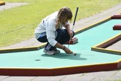Miniaturowy golf Zdjęcia Stock