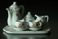 Miniaturowy herbata set Fotografia Stock