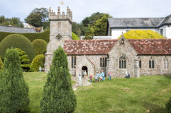 Miniaturowy kościół Obrazy Royalty Free