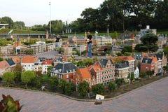 Miniaturowy miasto Madurodam Haga, holandie Zdjęcie Stock