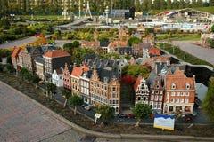 Miniaturowy miasto Madurodam Haga, holandie Fotografia Royalty Free