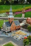 Miniaturowy miasto Madurodam Haga, holandie Obrazy Stock