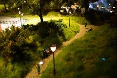 Miniaturowy park Zdjęcie Royalty Free