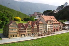 miniaturowy Switzerland Zdjęcie Stock