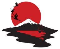 Miniaturowy target710_0_ Japonia Obrazy Stock