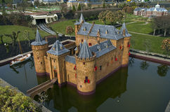 Miniaturstadt Madurodam. Den Haag, die Niederlande. Stockbild
