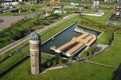 Miniaturstadt Madurodam, Den Haag, die Niederlande Lizenzfreie Stockfotografie