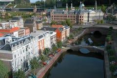 Miniaturstadt Madurodam, Den Haag, die Niederlande Stockfoto