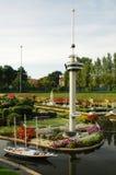 Miniaturstadt Madurodam, Den Haag, die Niederlande Stockfotografie