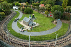 Miniaturstadt Madurodam, Den Haag, die Niederlande Lizenzfreies Stockfoto