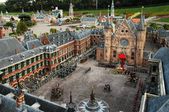 Miniaturstadt Madurodam, Den Haag, die Niederlande Lizenzfreies Stockbild