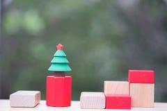 Miniaturweihnachtsbaum für Celebrate Weihnachten am 25. Dezember jedes Jahr stockfoto