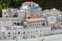 Miniatury muzeum Izrael Zdjęcia Royalty Free