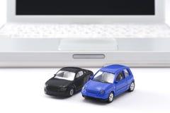 Miniatuur auto Royalty-vrije Stock Fotografie