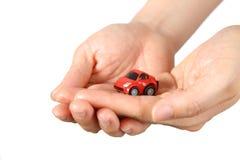 Miniatuur auto Stock Afbeelding