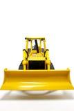Miniatuur Bulldozer Stock Afbeelding