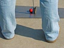 Miniatuur golf stock foto's