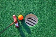Miniatuur Golf Royalty-vrije Stock Fotografie
