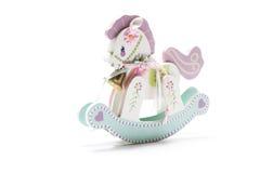 Miniatuur Hobbelpaard Royalty-vrije Stock Foto's
