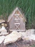 Miniatuur Huis Stock Foto