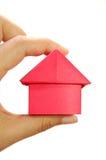 Miniatuur huis stock afbeelding