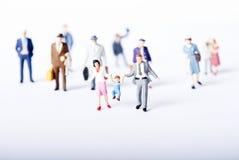 Miniatuur mensen Royalty-vrije Stock Foto's