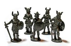 Miniatuur Strijders stock foto's