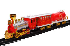 Miniatuur trein Stock Foto