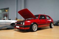 Miniatuur van klassieke auto Royalty-vrije Stock Foto's