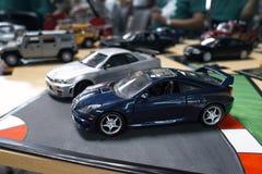 Miniatuur van twee auto's Royalty-vrije Stock Afbeelding