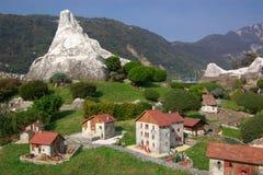 Miniatuur Zwitserland Royalty-vrije Stock Afbeelding