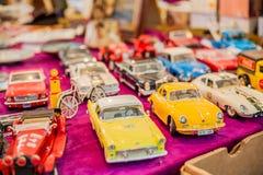 Miniatuurauto's stock afbeeldingen