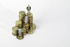 Miniatuurcijfer Stock Foto's