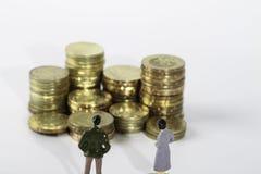 Miniatuurcijfer Royalty-vrije Stock Afbeeldingen