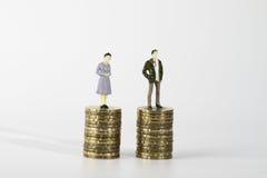 Miniatuurcijfer Royalty-vrije Stock Foto
