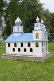 Miniatuurexemplaar van kerk Royalty-vrije Stock Afbeelding